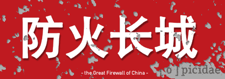 picidae through the Great Firewall of China